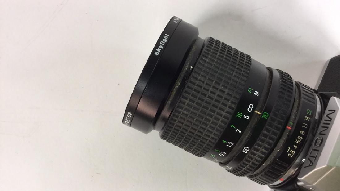 Minolta XG-A  Camera With Lens - 7