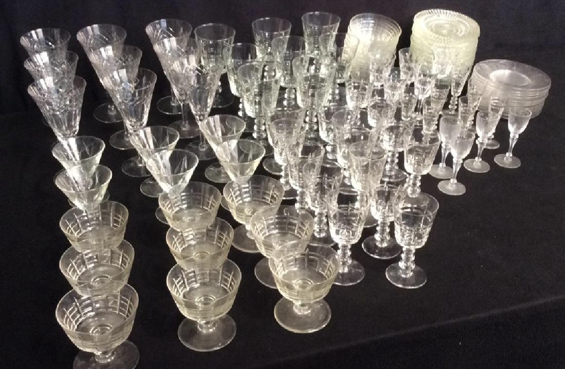 Group Of Vintage Glassware