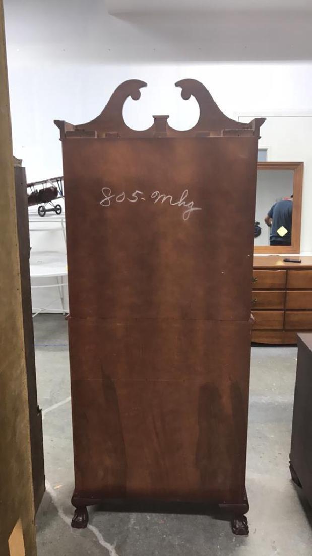Vintage Federal Style Wood Cabinet - 10