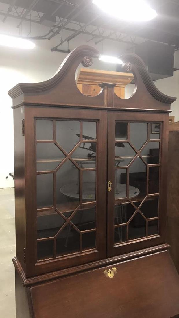 Vintage Federal Style Wood Cabinet - 2