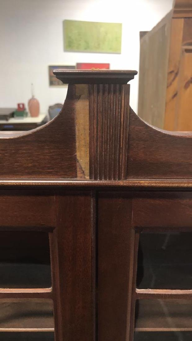 Vintage Federal Style Wood Cabinet - 3