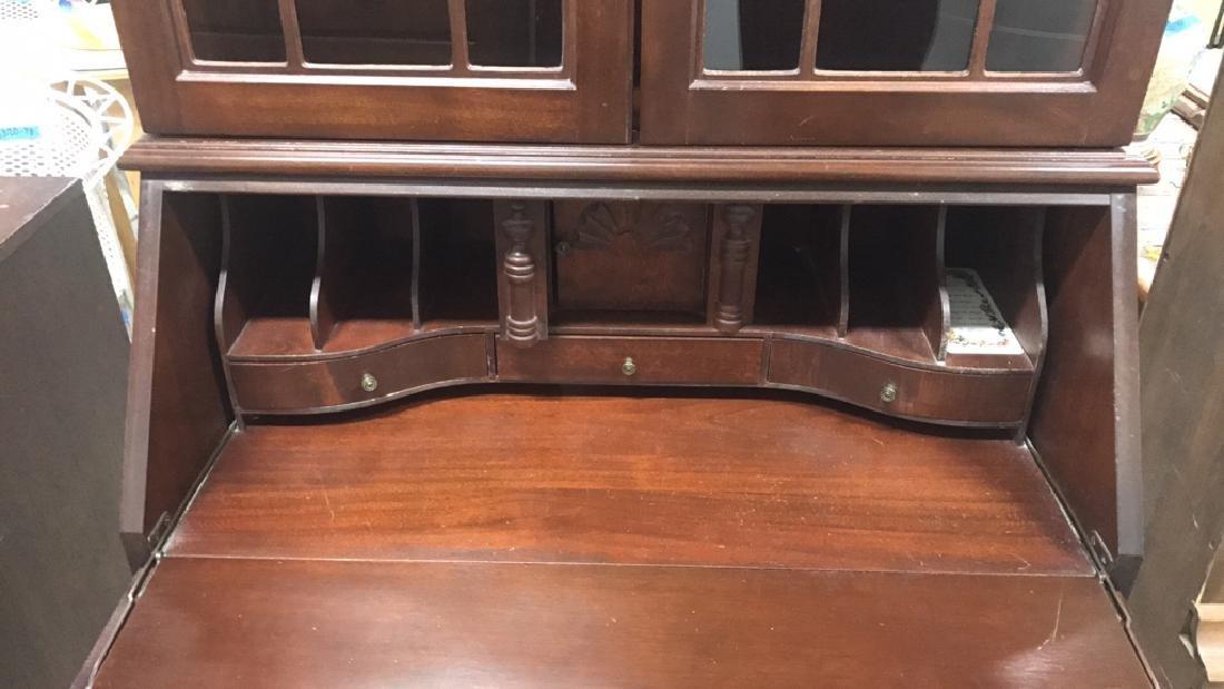 Vintage Federal Style Wood Cabinet - 6