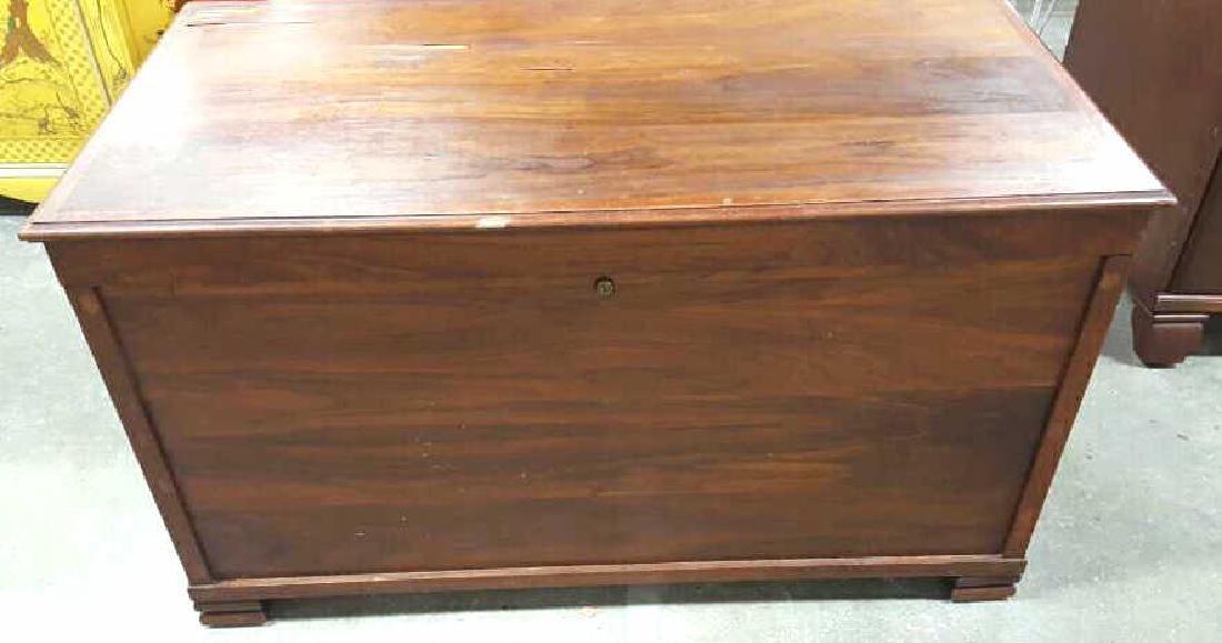 Vintage Wooden Chest - 2