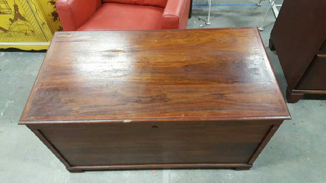 Vintage Wooden Chest - 3