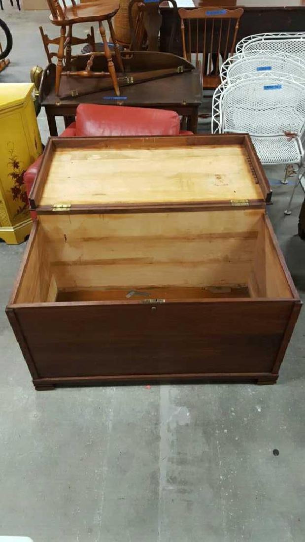 Vintage Wooden Chest - 7