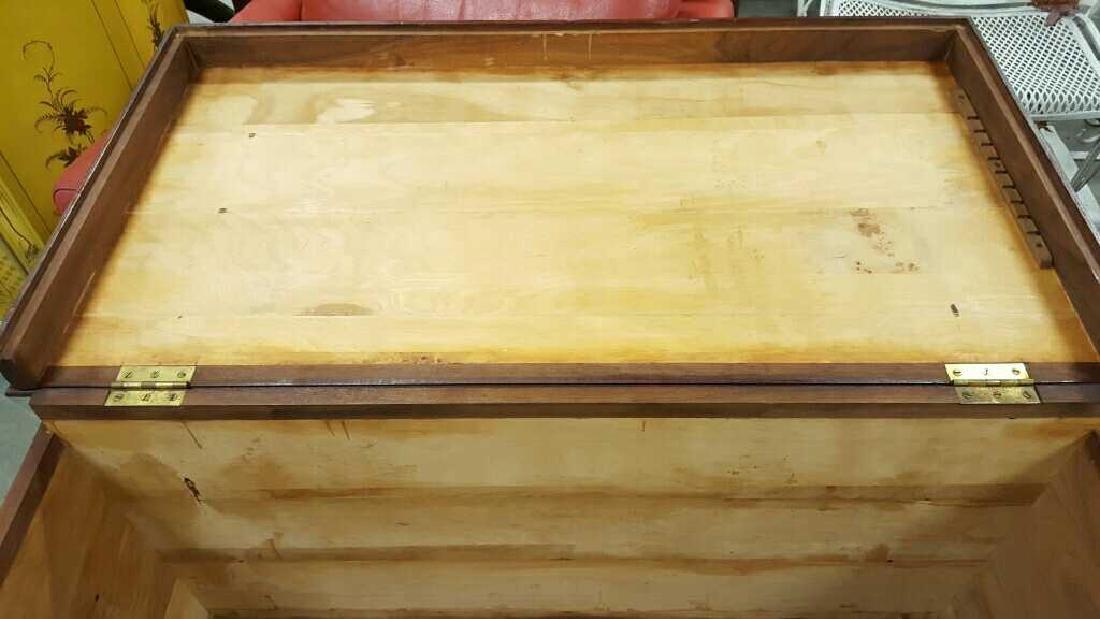 Vintage Wooden Chest - 9