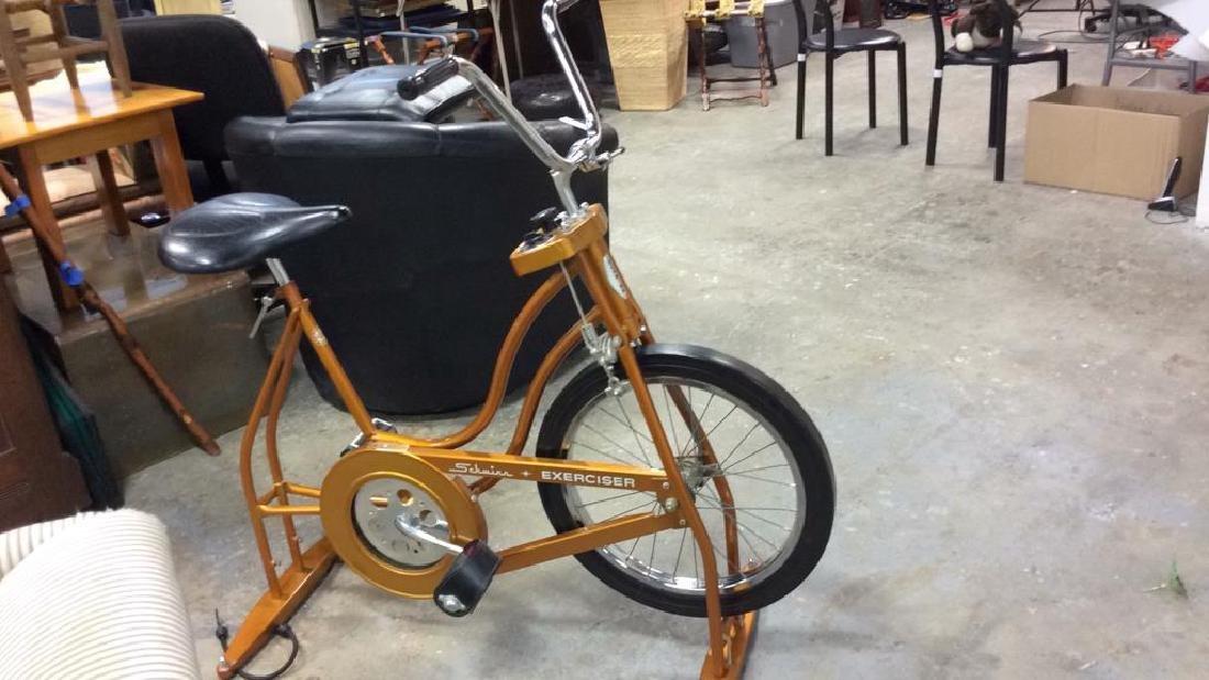 Schwinn Coppertone Finish Stationery Bike - 5