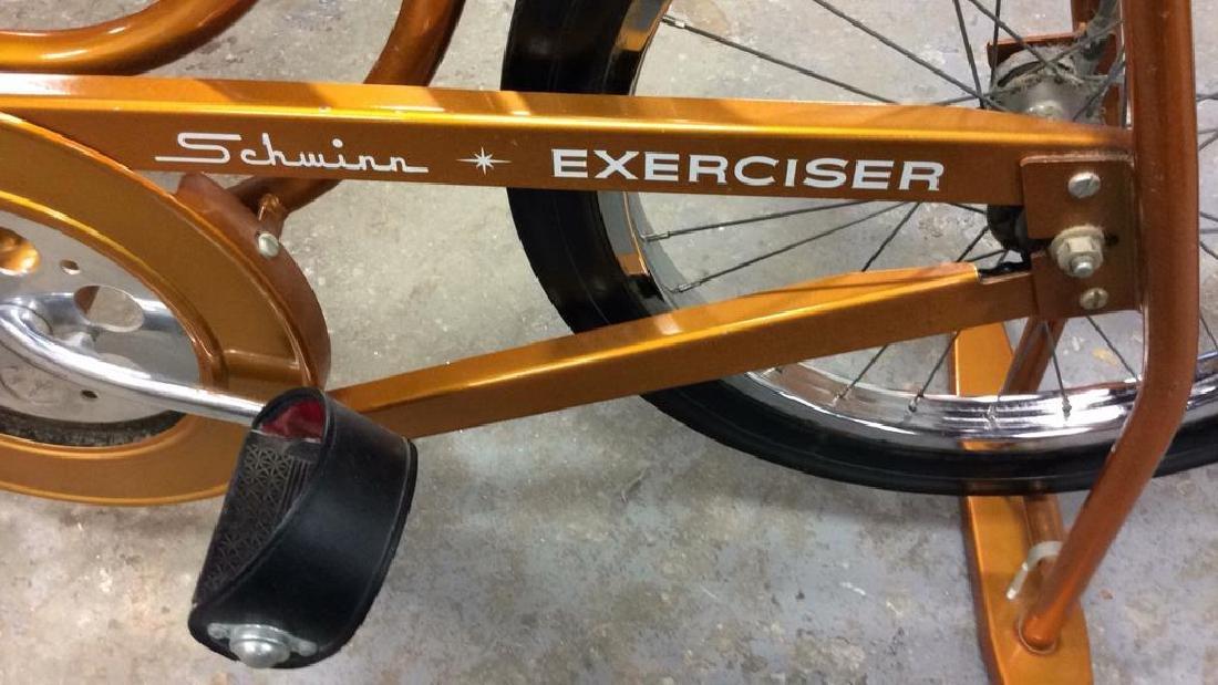 Schwinn Coppertone Finish Stationery Bike - 6