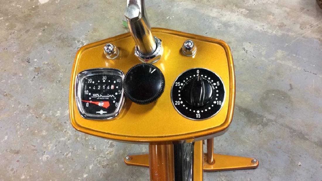 Schwinn Coppertone Finish Stationery Bike - 7
