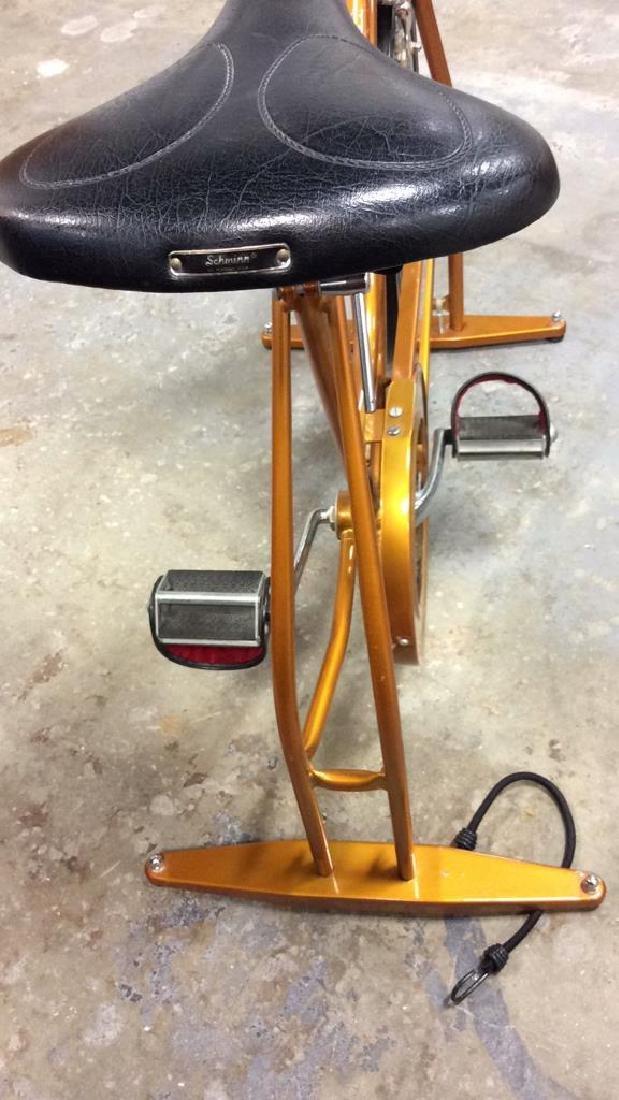 Schwinn Coppertone Finish Stationery Bike - 9
