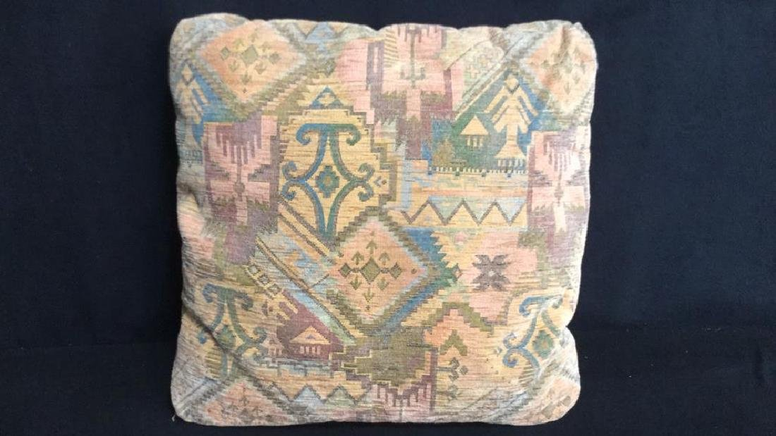 Group Lot Of Assorted Vintage Throw Pillows Nine - 4