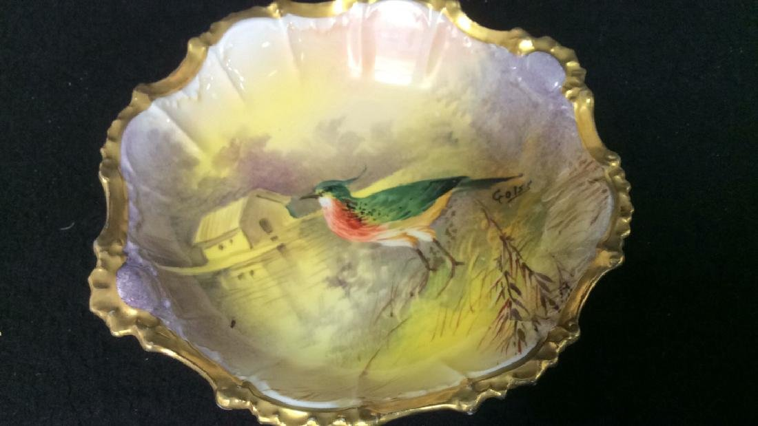 Hand Painted Limoges France Tabletop Porcelain Assorted - 7