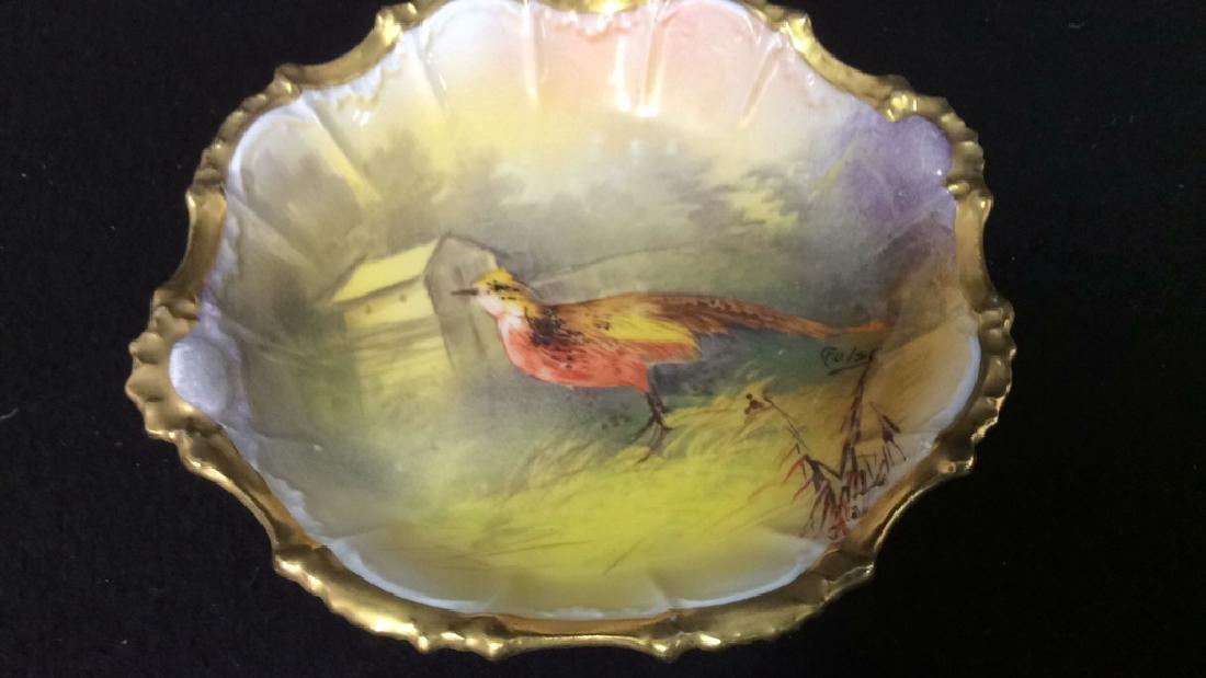 Hand Painted Limoges France Tabletop Porcelain Assorted - 8