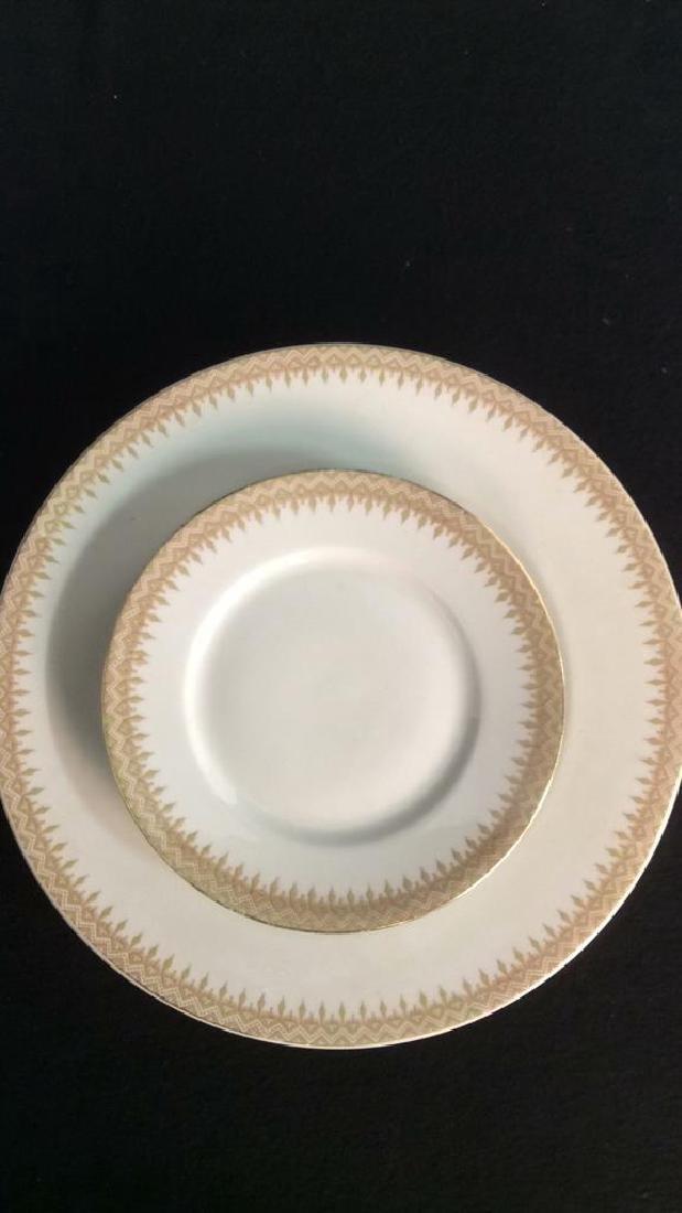 Partial Porcelain Dinner Service Limoges France 10 - 2