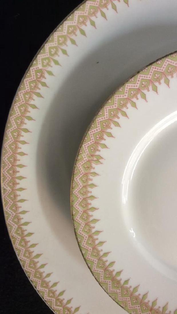 Partial Porcelain Dinner Service Limoges France 10 - 3