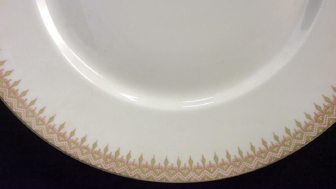 Partial Porcelain Dinner Service Limoges France 10 - 6