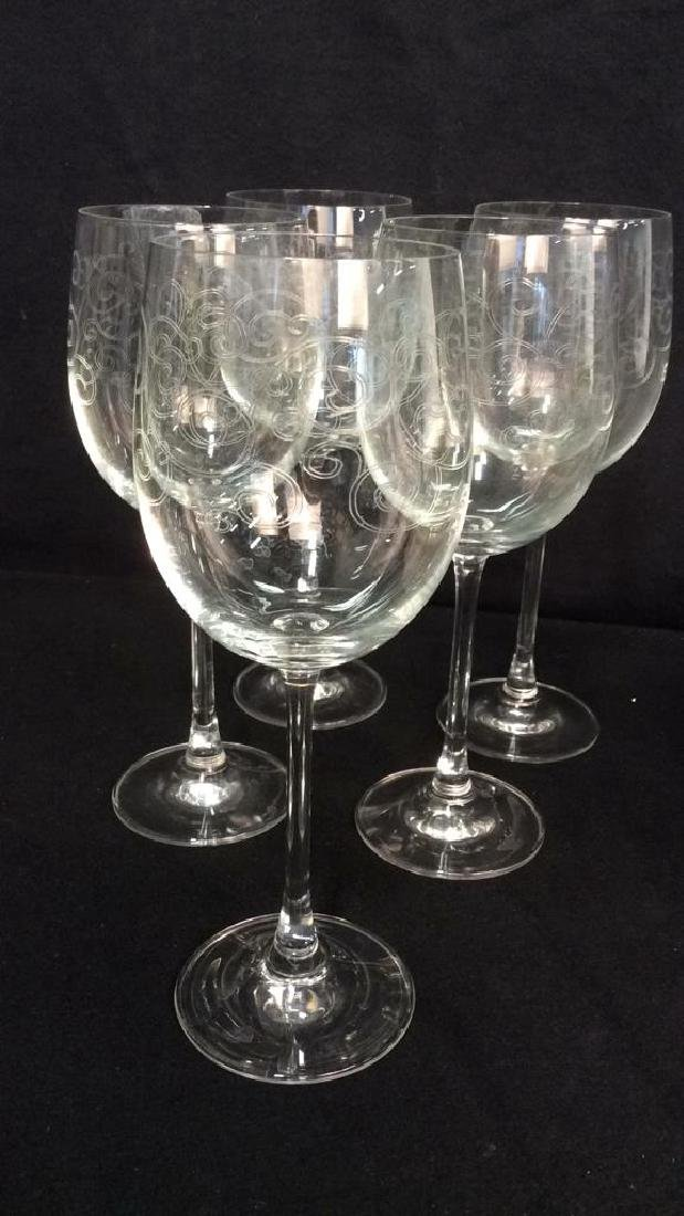 Tabletop Pottery Glassware Stemware Items Group lot - 3