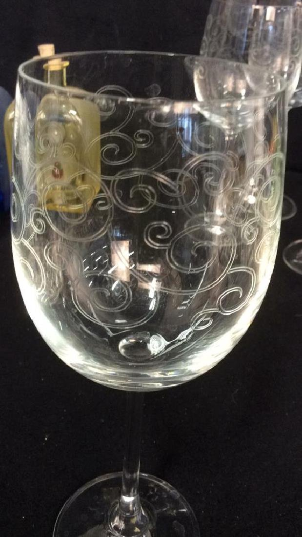 Tabletop Pottery Glassware Stemware Items Group lot - 4