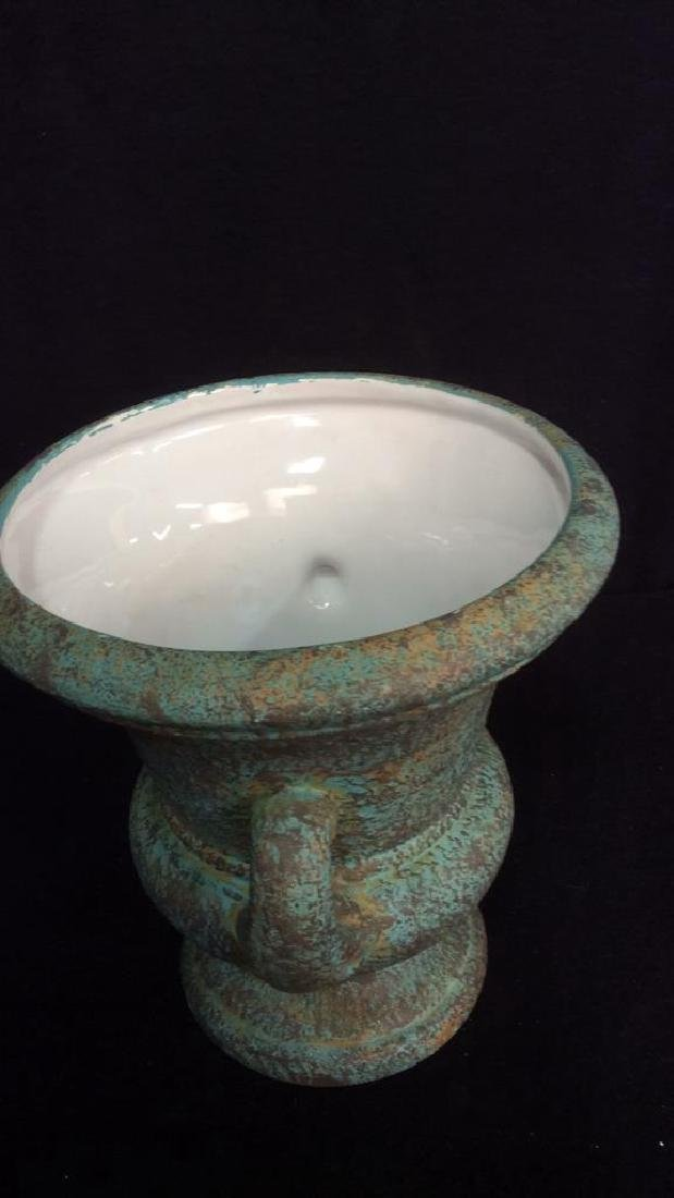Pottery Display Plate And Urn Vase Hand made pottery - 3