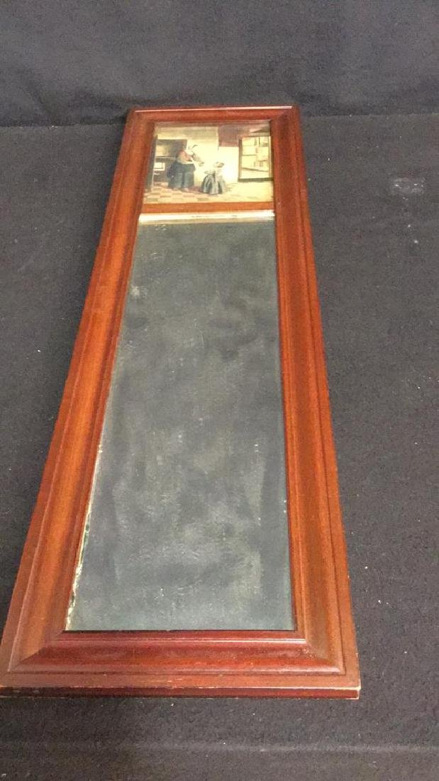 Antique Victorian Style Wall Mirror Antique Victorian - 3