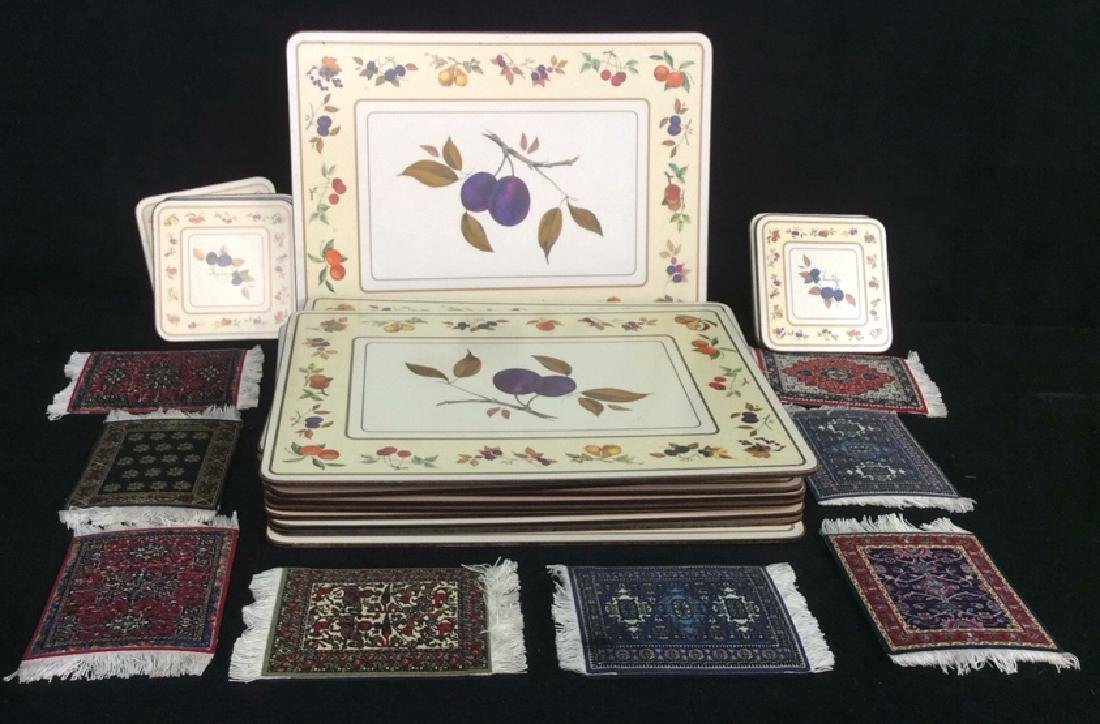 Royal Worcester Placemats And Coasters Placements of
