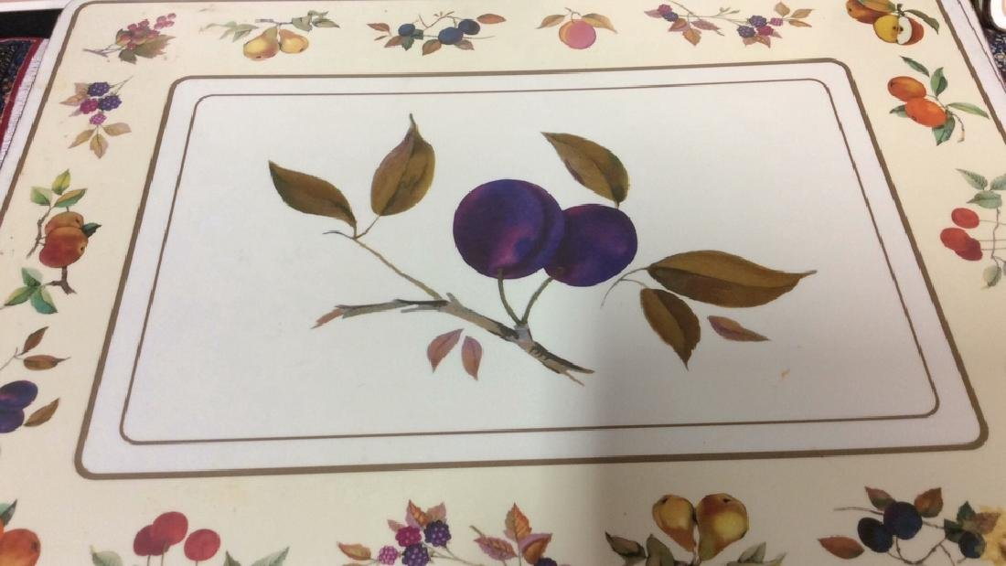 Royal Worcester Placemats And Coasters Placements of - 2
