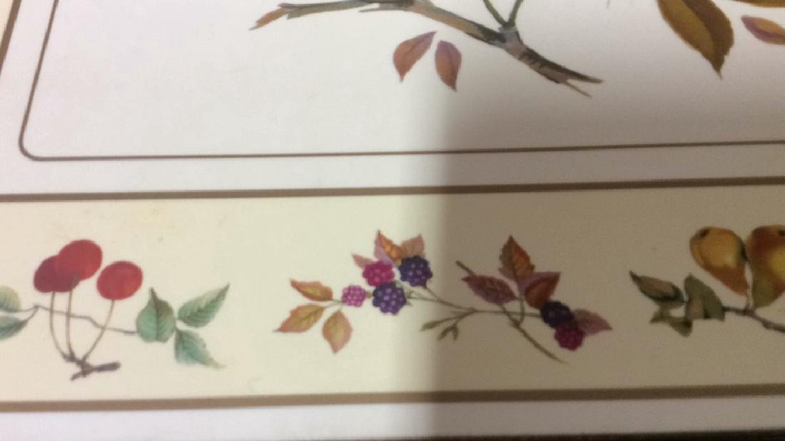 Royal Worcester Placemats And Coasters Placements of - 3