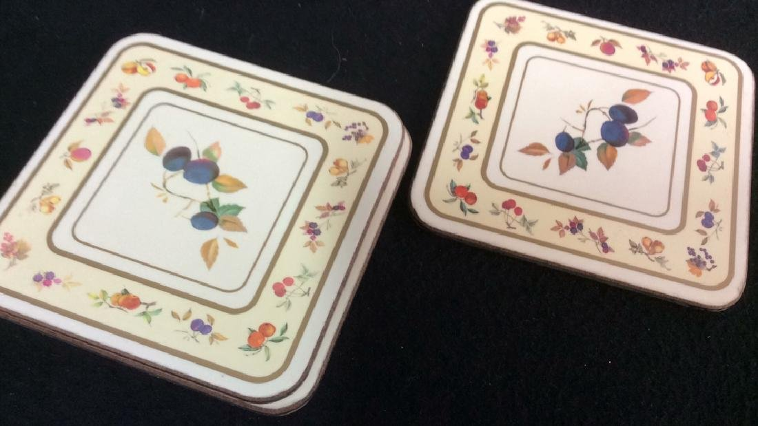 Royal Worcester Placemats And Coasters Placements of - 9