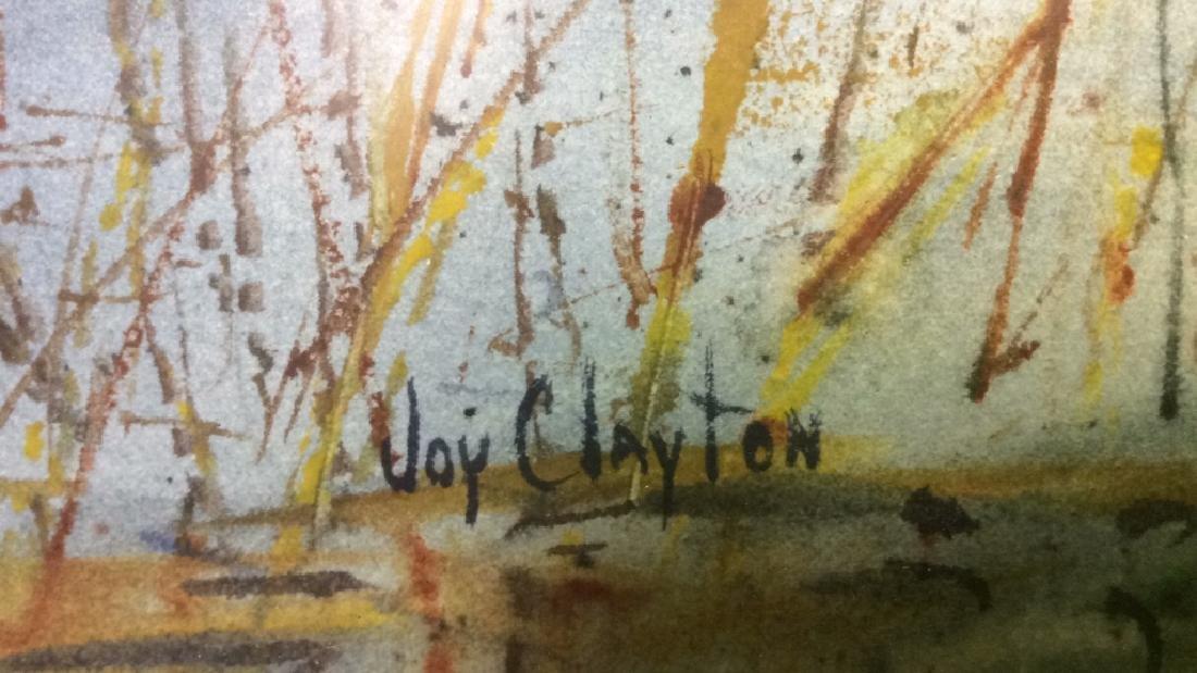 Framed Harbor Scene Artwork Joy Clayton Framed and - 7
