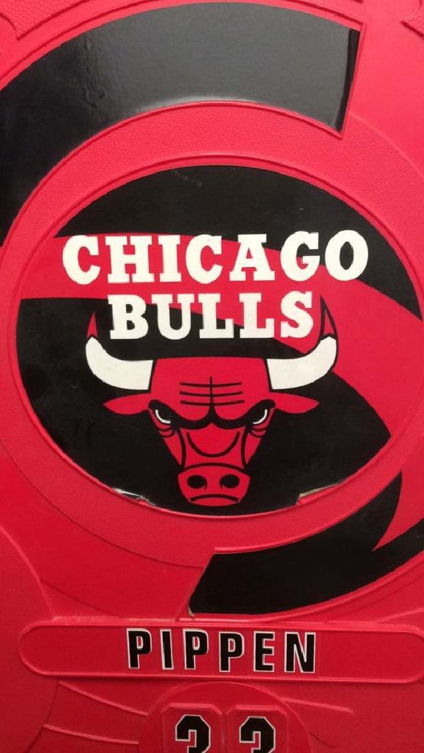 Mini Chicago Bulls Pippin 33 Storage Locker Red plastic - 2