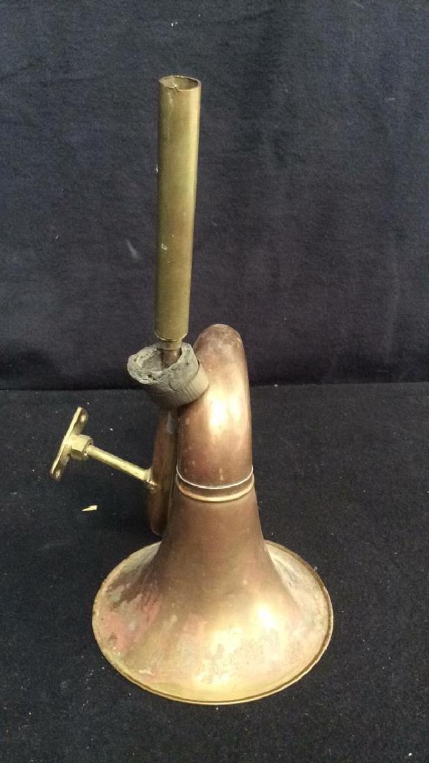 Antique French Hunt Horn Tromped de Chase, antique - 4