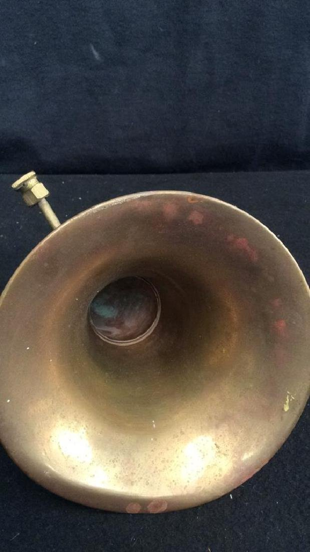 Antique French Hunt Horn Tromped de Chase, antique - 5