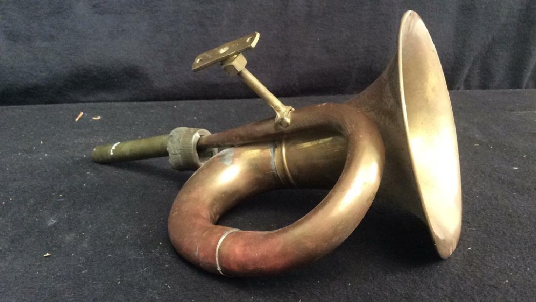 Antique French Hunt Horn Tromped de Chase, antique - 6