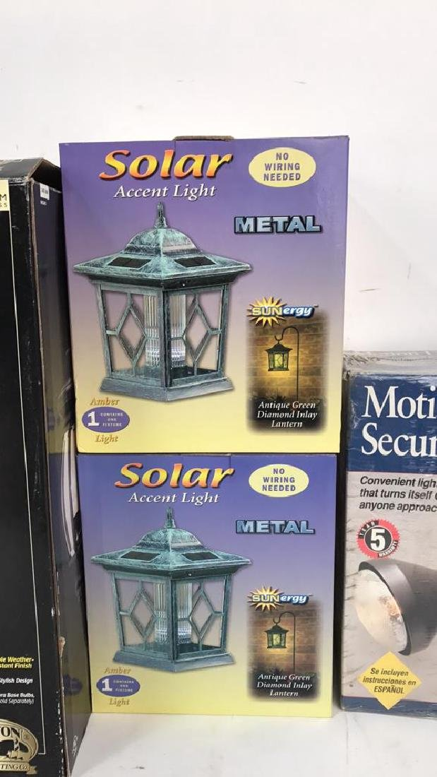 Group Lot 4 Outdoor Lights In Boxes Group Lot 4 Outdoor - 2