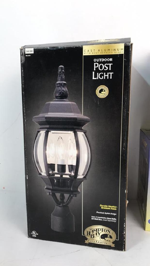Group Lot 4 Outdoor Lights In Boxes Group Lot 4 Outdoor - 5