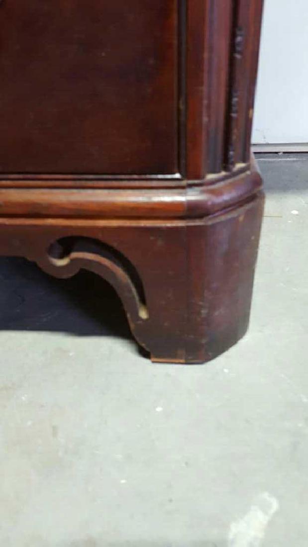 Vintage HATHAWAY'S Wood Desk Vintage Seven Drawer Wood - 6