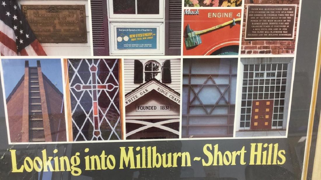 Framed Millburn-Short Hills New Jersey Poster Poster - 5