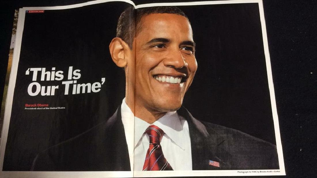 Collectible Time Magazine Obama Nov 17 2008 Time - 3