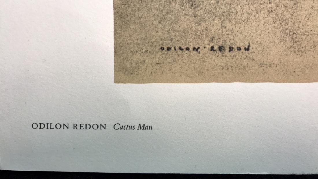 Odilon Redon Cactus Man Print Odilon Redon Cactus Man - 6