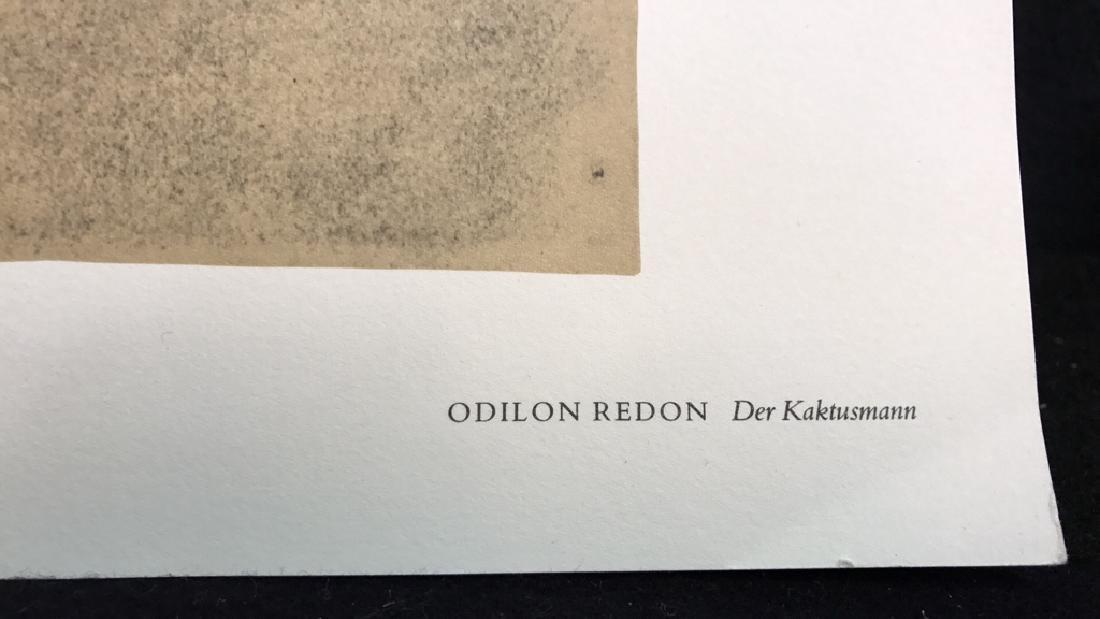 Odilon Redon Cactus Man Print Odilon Redon Cactus Man - 7