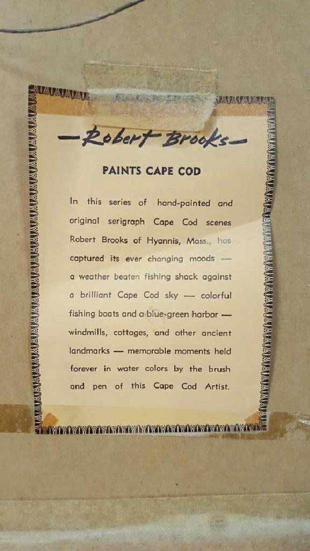 Signed Robert Brooks Artwork Signed Robert Brooks - 9