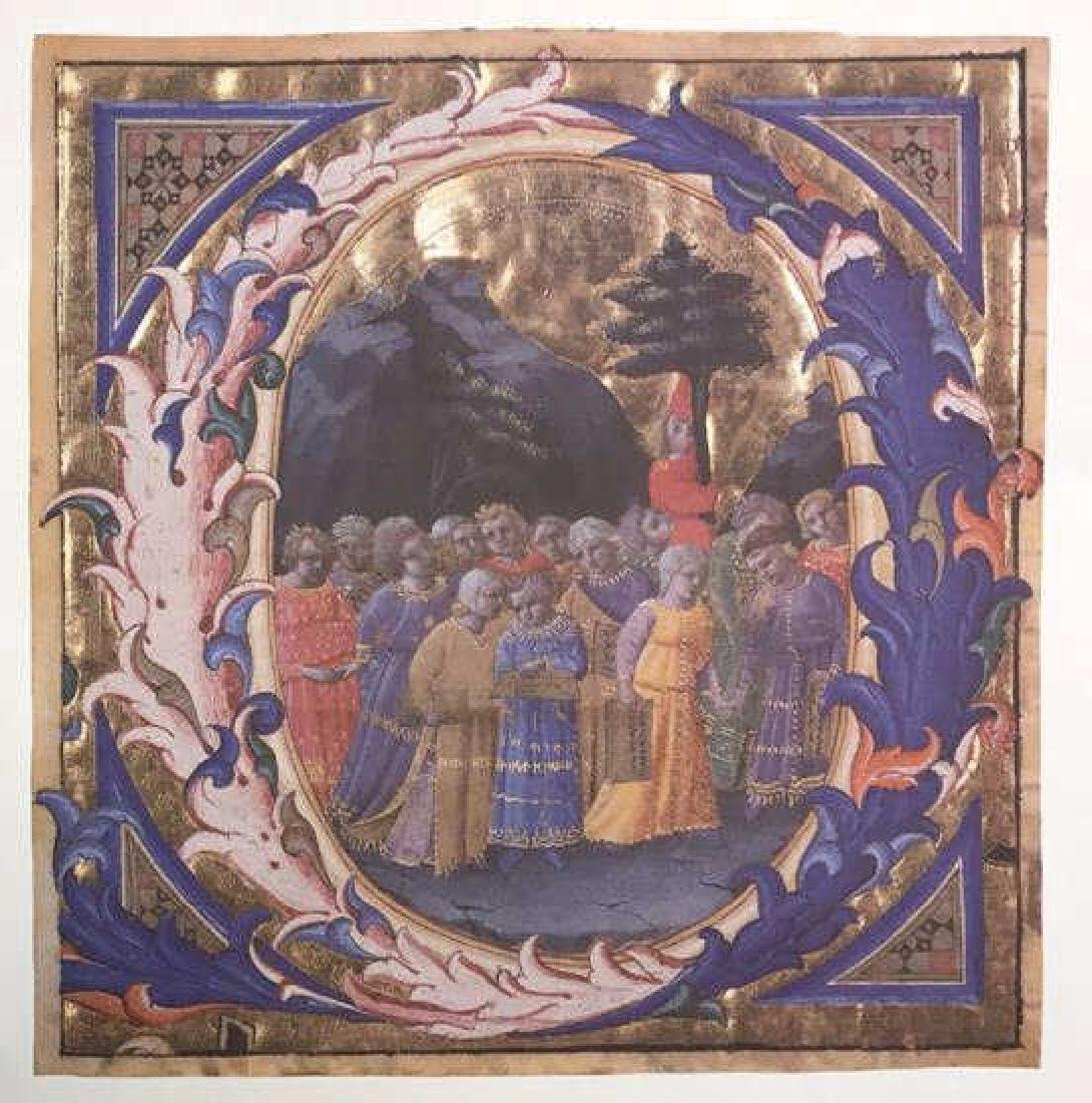 Fra Angelico A Procession Of Children Print Fra