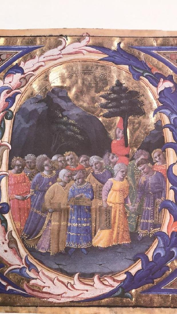 Fra Angelico A Procession Of Children Print Fra - 3