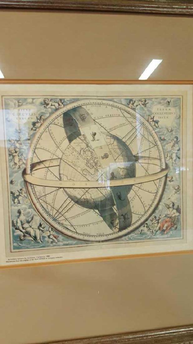Armillary Sphere by Andreas Cellarius, 1600 Armillary - 2