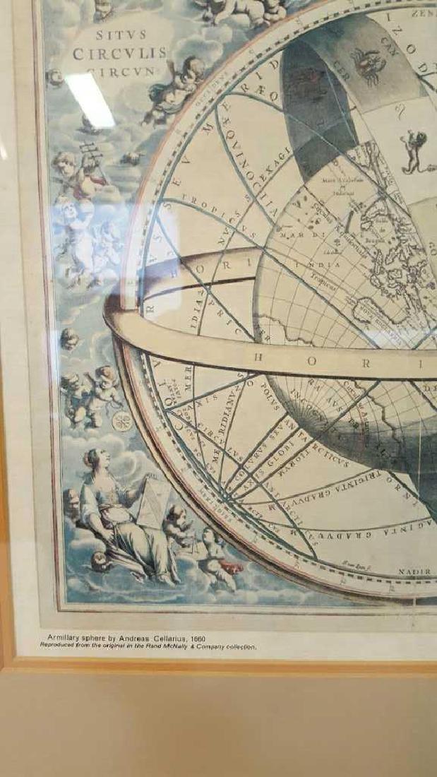 Armillary Sphere by Andreas Cellarius, 1600 Armillary - 4