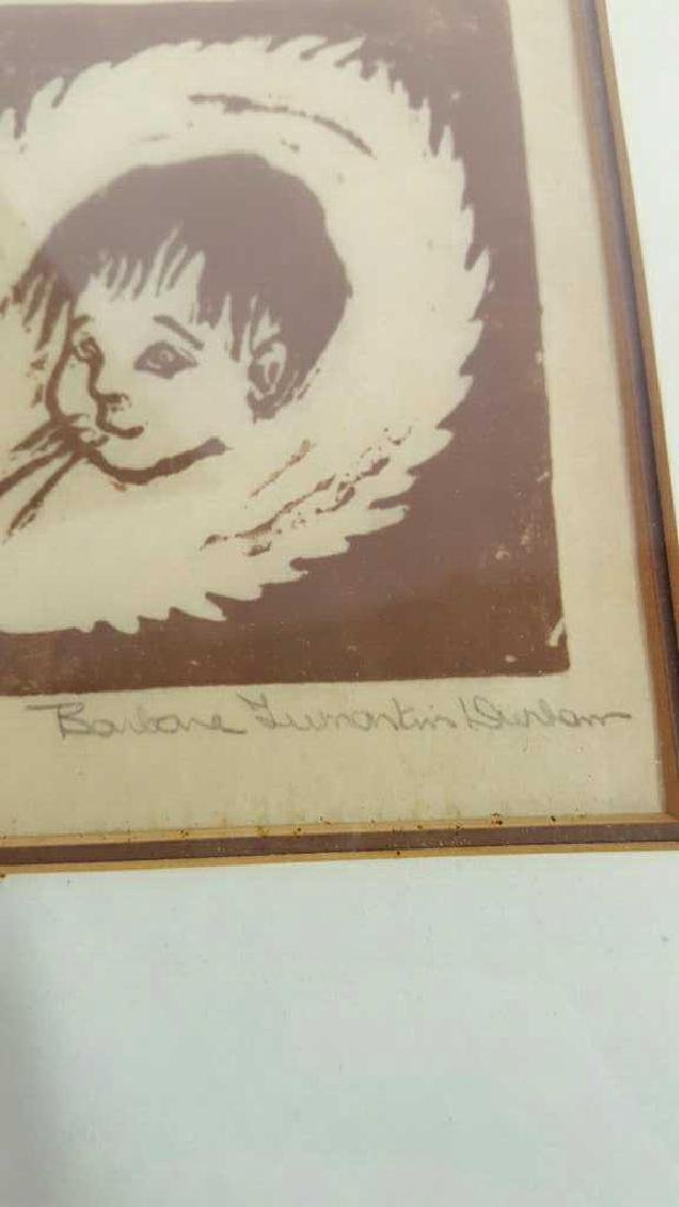 Signed Banbane Lumanlain Dunbam Lithograph Signed - 4