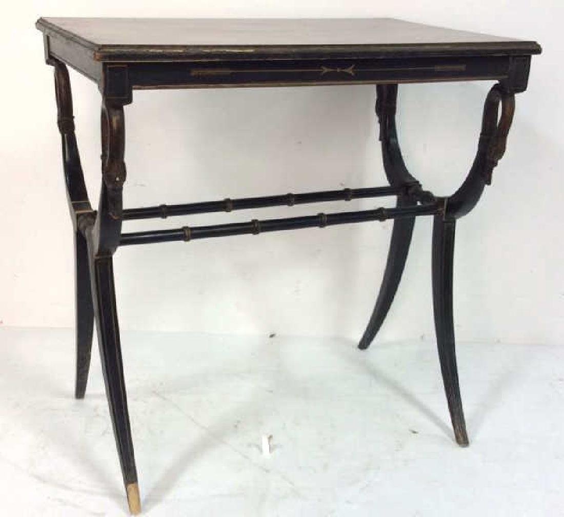 Antique Regency Style End Table