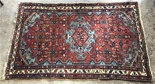 Antique Wool Persian Prayer Rug