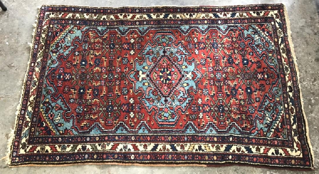 Antique Wool Persian Prayer Rug