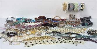 Group Vintage New Costume Jewelry Tiffany & More Group